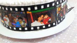 FAIXAS LATERAIS COM FOTOGRAFIAS - com rolo de filme