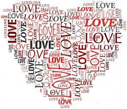Corações - recortados no desenho